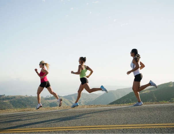 How do I protect my knees when running?