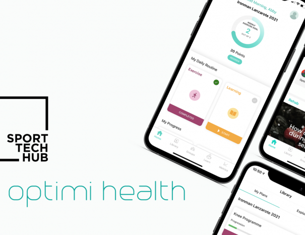 Optimi Health announced as first member of Sport Tech Hub 2021